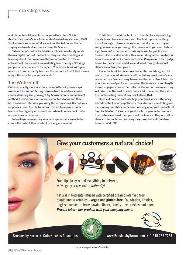 DaySpa Magazine March 2017 - Article 3