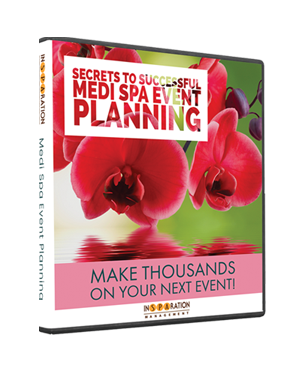 medi spa event planning