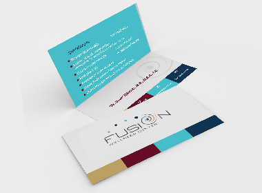 Fusion Wellness Center Business Cards