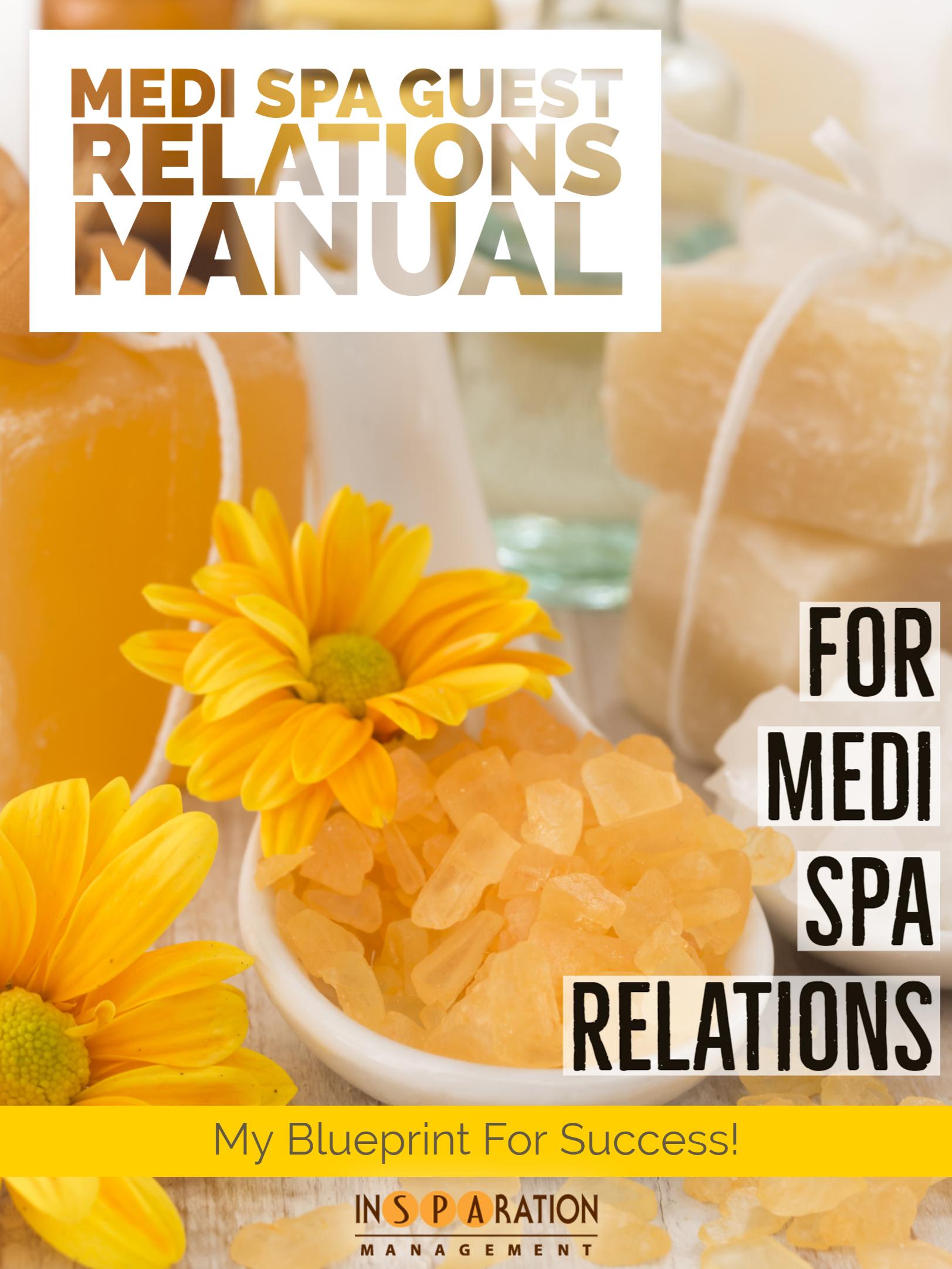 Spa Reception Manual