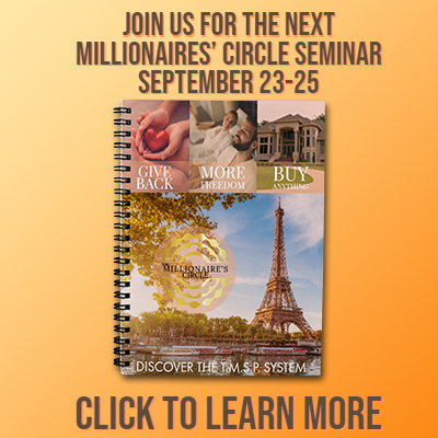 Join Us for the Millionaires' Circle Seminar