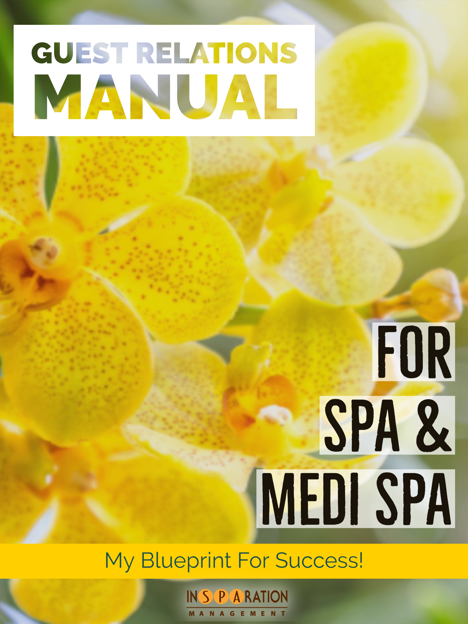 Spa Reception Manual
