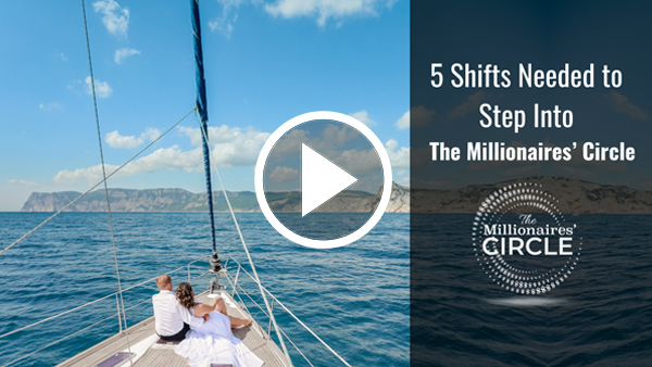 5 Shifts On How To Step Into The Millionaires' Circle Webinar
