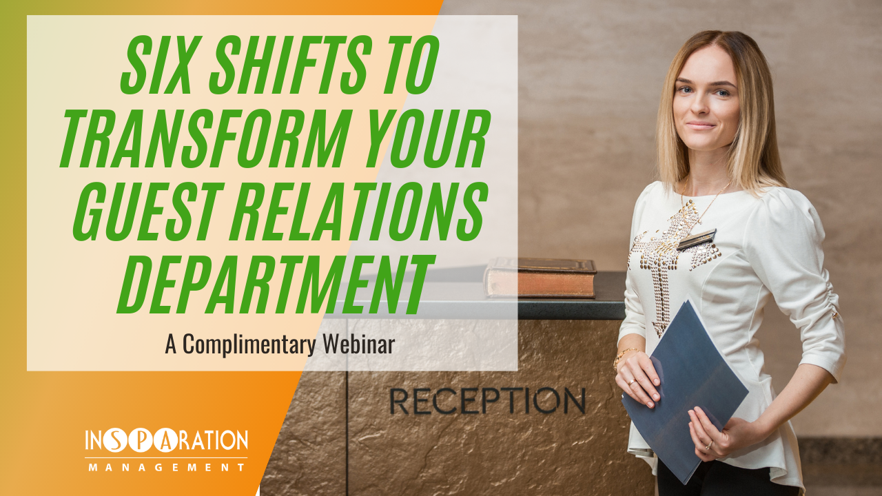 Six Shifts to Transform Your Reception Department
